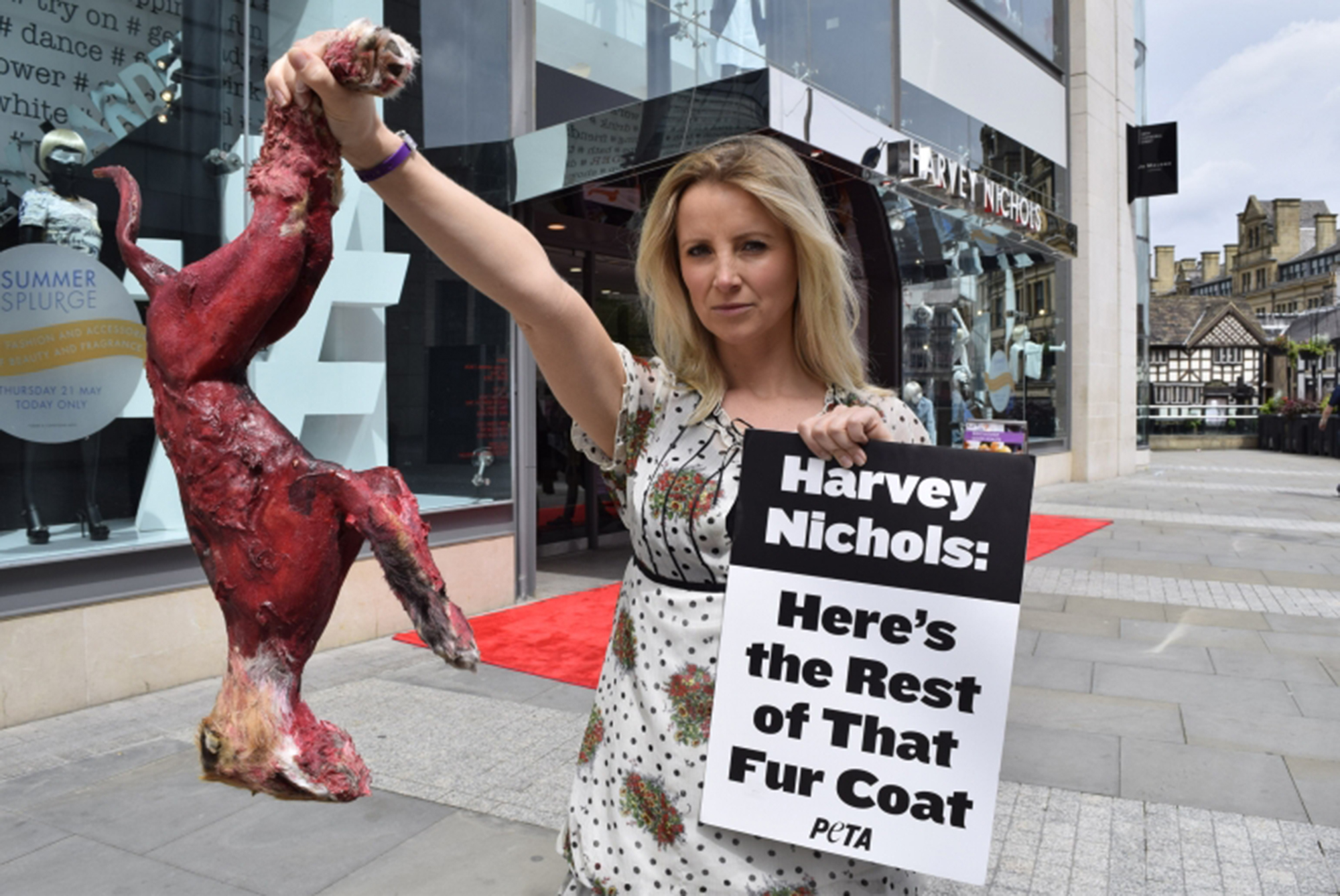 Harvey Nichols Here S The Rest Of That Fur Coat Style